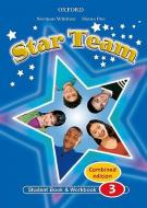 Star Team 3 ( Student's Book / Workbook / Video-rom ) Combined Edition