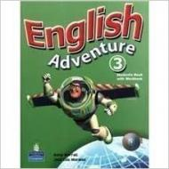 English Adventure 3 - Student's Book / Activity Book With CD-ROM *DUPLICADO 9780132439725*